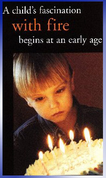 image-child's facination with fire begins at an early age